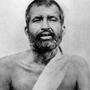 Rappresentazione in primo piano di Śrī Rāmakṛṣṇa Paramahaṃsa