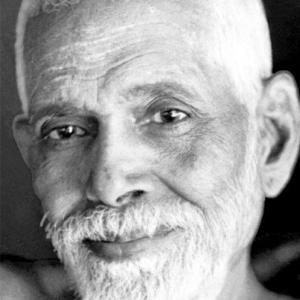 Raffigurazione in primo piano di Śrī Ramana Mahaṛṣi