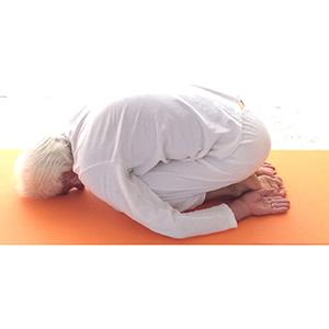 Posizione yoga bālāsana