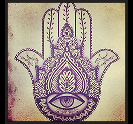 Simbolo che rappresenta l' Ahimsa, la non violenza
