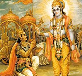 Scena tratta dalla Bhagavad Gītā