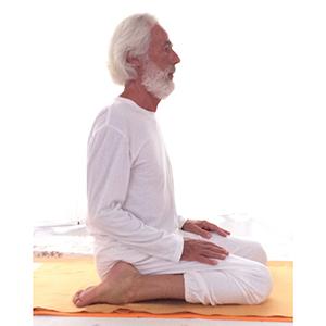Posizione yoga vajrasana
