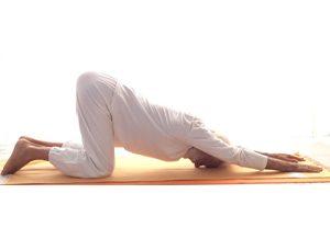 Posizione yoga dharmikasana