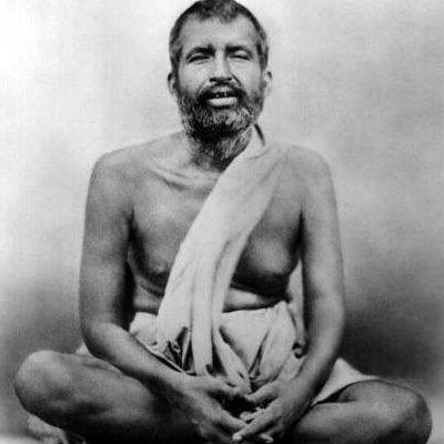 Rappresentazione di Śrī Rāmakṛṣṇa Paramahaṃsa