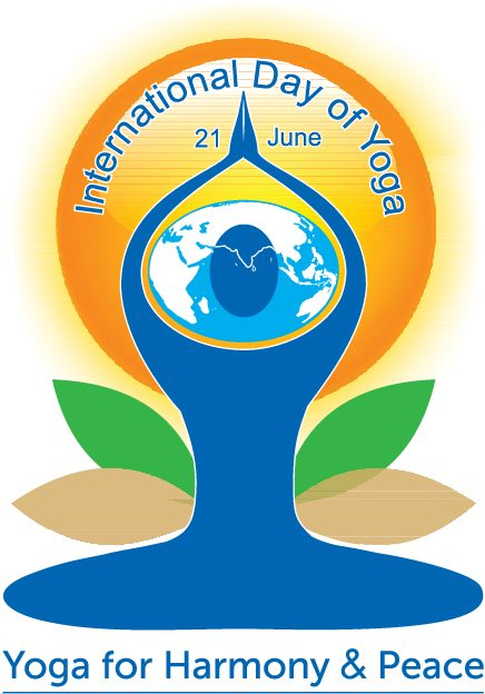 International yoga day e solstizio d'estate immagine interna alla descrizione del calendario