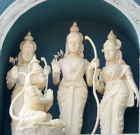 Sri Rāma Navami immagine interna alla descrizione del calendario
