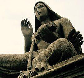 Statua yogi