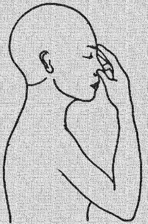 immagine completa di nāḍī śodhana