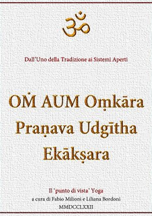 Libro OṀ AUM Oṃkāra Praṇava Udgītha Ekākṣara