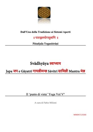Libro Svādhyāya Japa e Gāyatrī Sāvitrī Mantra