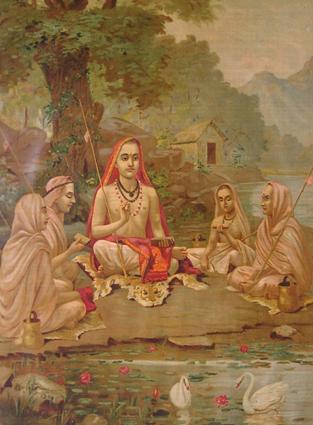Ādi Śaṅkara Jayantī immagine interna alla descrizione del calendario
