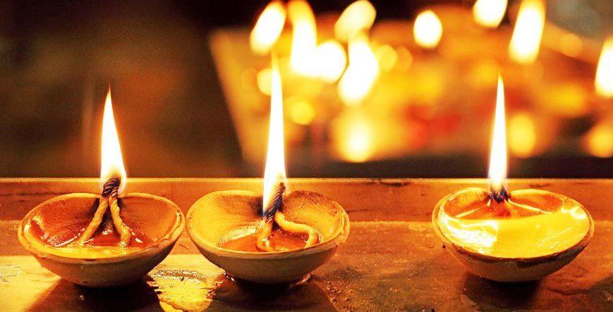 Diwali immagine interna alla descrizione del calendario