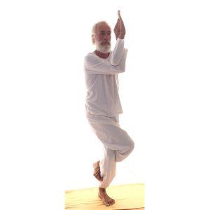 Posizione yoga garuḍāsana