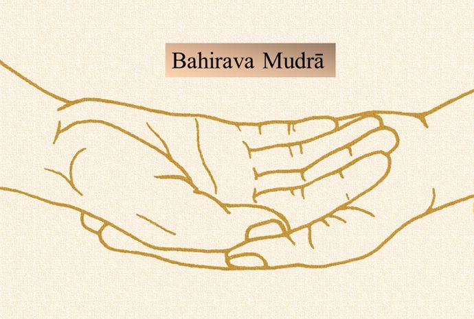 Immagine didattica del Bahirava Mudrā