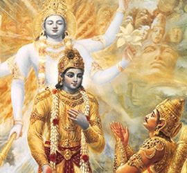 Immagine tratta dalla La Bhagavad Gītā
