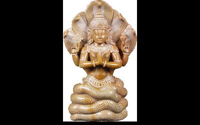 Statuetta figura yogi