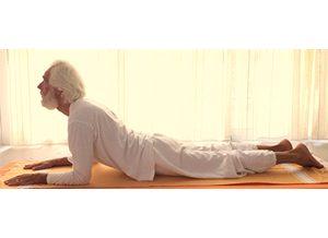 Posizione yoga sālamba bhujaṅgāsana