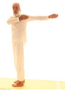 Posizione yoga katiśakti vikāsaka