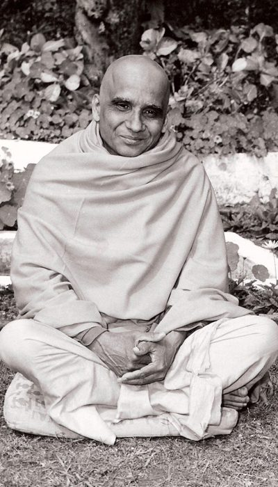 Foto di Śrī Svāmī Kṛṣnānandaji Maharaj